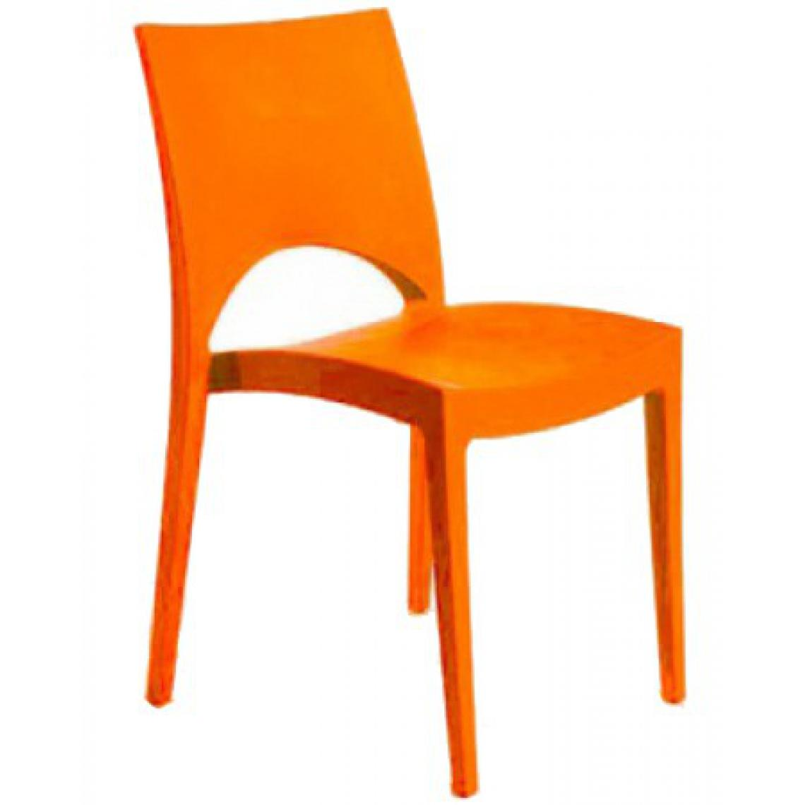 Chaise Design Orange VENISE