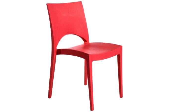 Chaise design rouge venise chaise design pas cher for Chaise design rouge