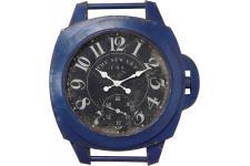 Horloge Design Horloge Kare Design Vintage Bleu 90Cm, deco design