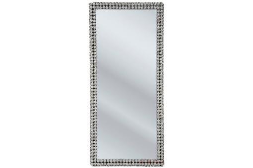 Grand miroir kare design contour roses miroir - Grand miroir rectangulaire design ...