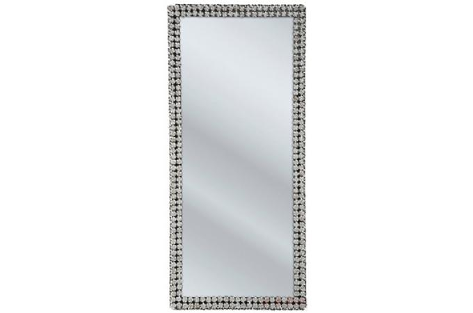 Grand miroir contour roses miroir rectangulaire pas cher for Grand miroir design