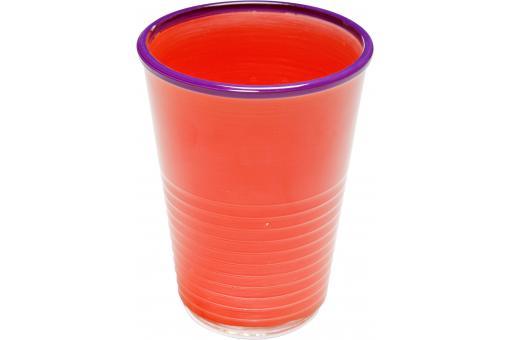 verre eau orange pop art mug verre pas cher. Black Bedroom Furniture Sets. Home Design Ideas