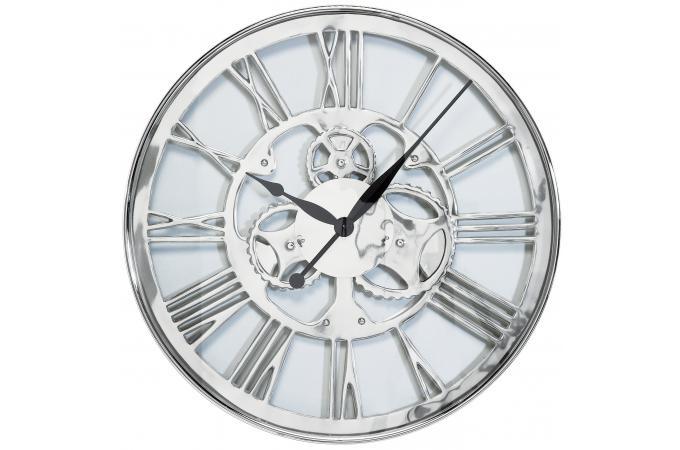 horloge chiffres romains 60cm horloge design pas cher. Black Bedroom Furniture Sets. Home Design Ideas