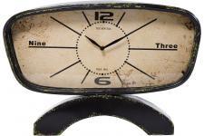 Horloge Design Horloge à poser Kare Design Noire Vintage Cicuna, deco design