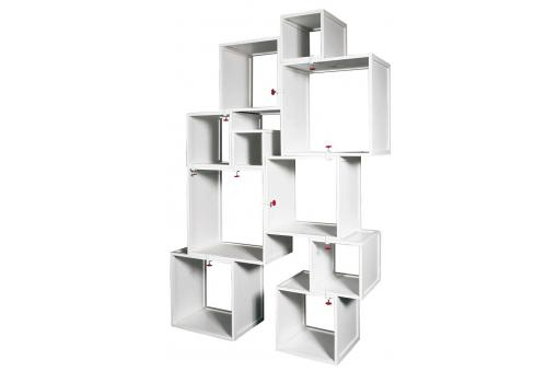 Seletti - Cubes Modulables Blancs Alfred