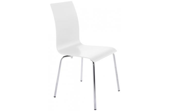 chaise blanche madrid chaise design pas cher. Black Bedroom Furniture Sets. Home Design Ideas