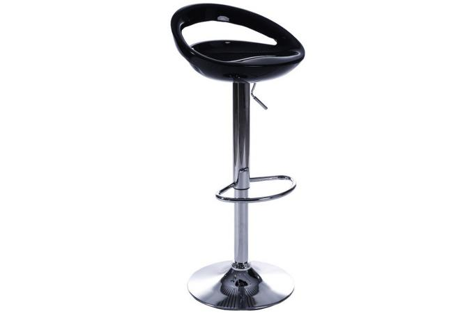 tabouret de bar noir columbo tabouret de bar pas cher. Black Bedroom Furniture Sets. Home Design Ideas