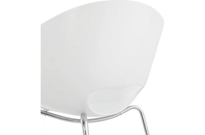 chaise blanche dublin chaise design pas cher. Black Bedroom Furniture Sets. Home Design Ideas