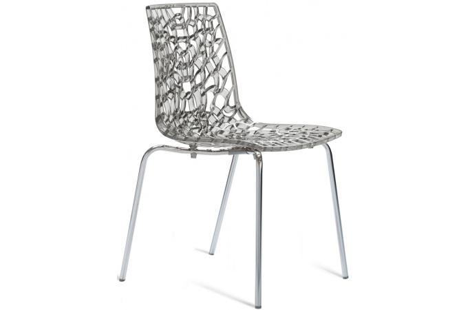 Description - Chaise gruyere transparente ...