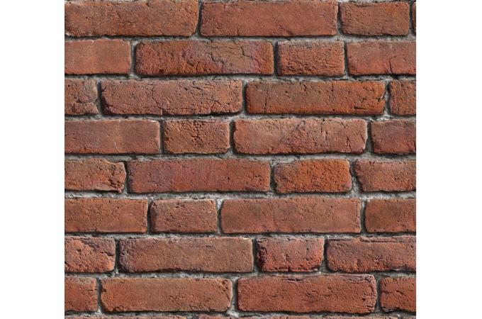 Papier Peint Briques Rouges Orangees Papier Peints Brique Pierre