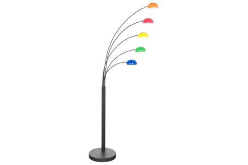 Lampadaire 5 branches multicolore vanessa lampadaire pas - Lampadaire branches ...