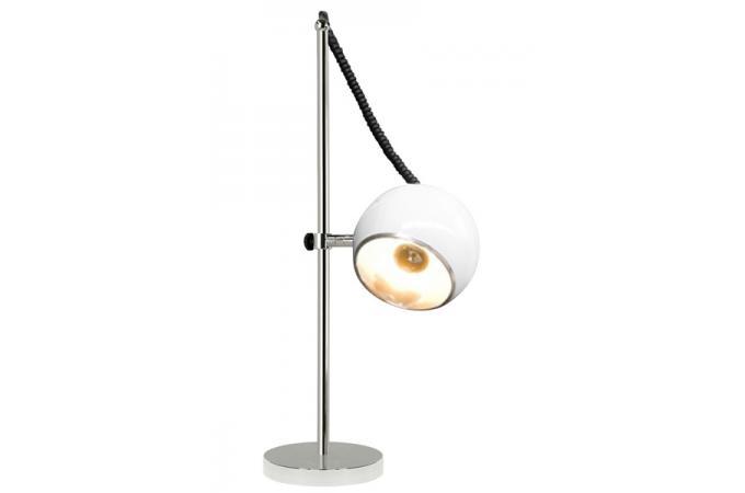 lampe poser boule blanche lampe poser pas cher. Black Bedroom Furniture Sets. Home Design Ideas