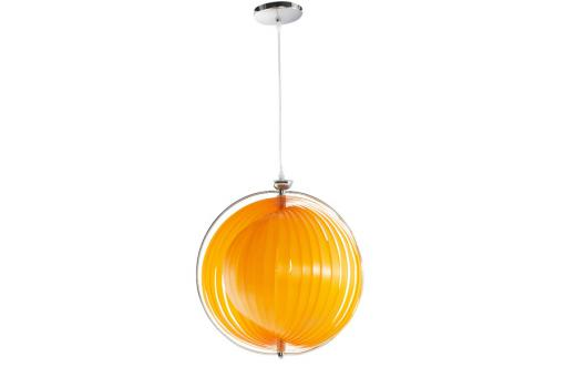 Suspension orange Soleil