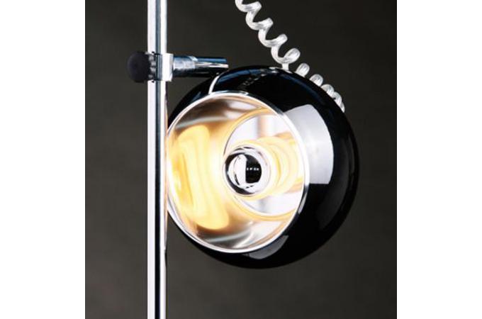 Lampe poser boule noire lampe poser pas cher for Lampe a poser boule