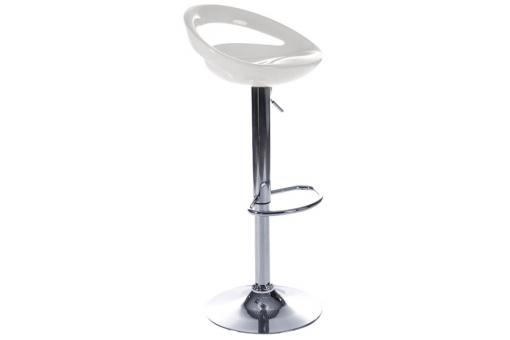 Tabouret de bar blanc Julia