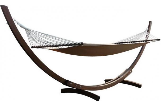 hamac bois et toile chaise longue et hamac pas cher. Black Bedroom Furniture Sets. Home Design Ideas