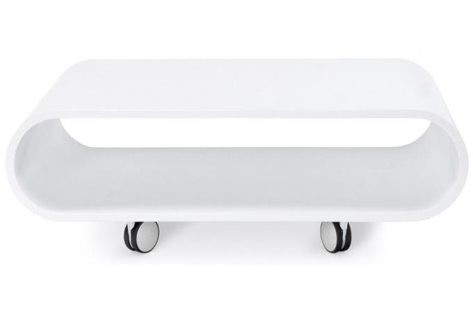 petite table basse blanche pop table basse pas cher. Black Bedroom Furniture Sets. Home Design Ideas