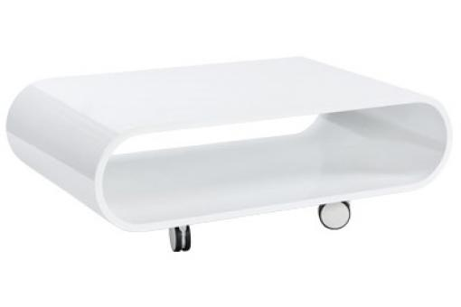 Petite table basse blanche Pop