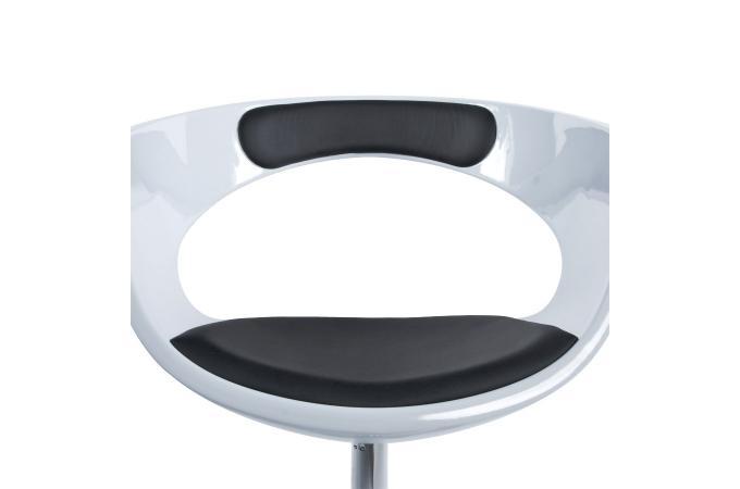 Fauteuil coque noir et blanc fauteuil design pas cher - Fauteuil coque pas cher ...