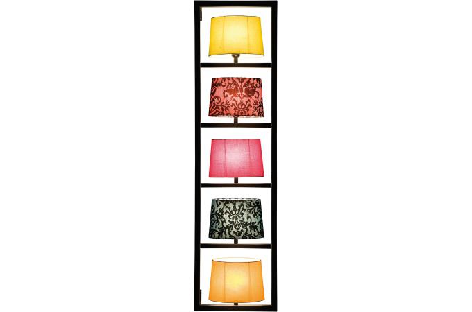 lampe murale multicolore polyester parecchi lampe murale pas cher. Black Bedroom Furniture Sets. Home Design Ideas