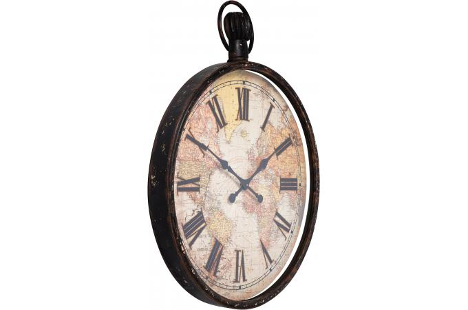 horloge murale marron alicia horloge design pas cher. Black Bedroom Furniture Sets. Home Design Ideas