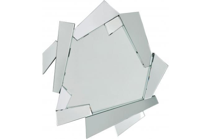Miroir argent verre wales miroir rond et ovale pas cher for Verre et miroir