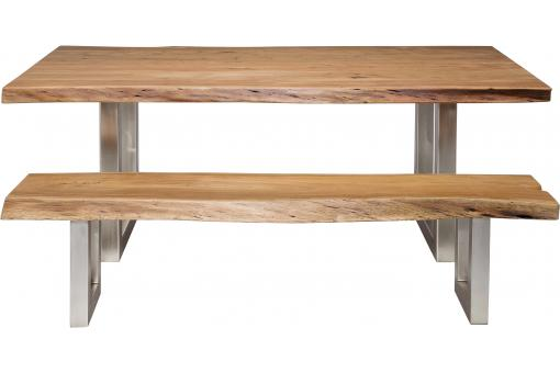 Table marron bois Genoa