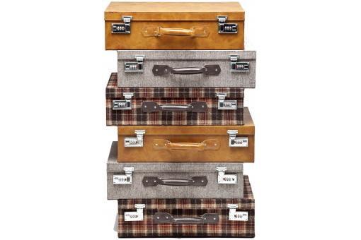 KARE DESIGN - Commode multicolore valises Outback