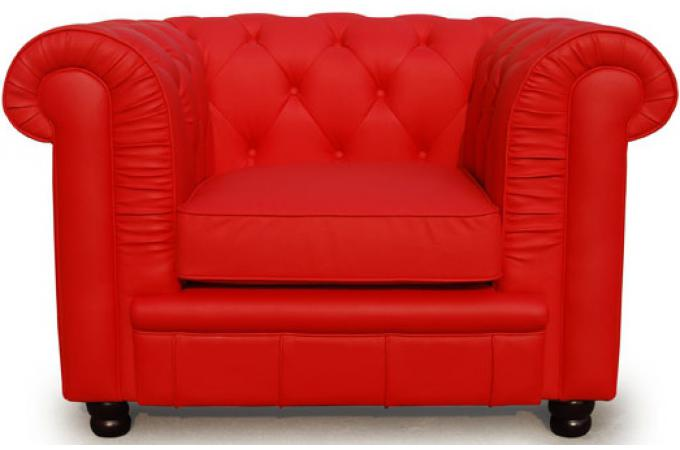 fauteuil chesterfield 1 place rouge james fauteuil chesterfield pas cher. Black Bedroom Furniture Sets. Home Design Ideas