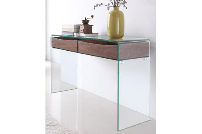 meuble en verre : table en verre, table basse en verre design - page 1 - Meubles Consoles Design