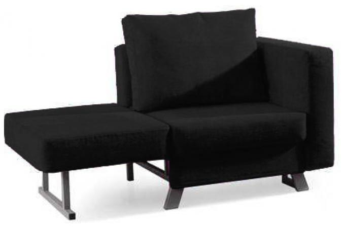fauteuil convertible 1 place multi noir fauteuil design pas cher. Black Bedroom Furniture Sets. Home Design Ideas
