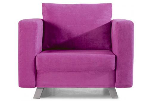 Fauteuil convertible 1 place Multi rose