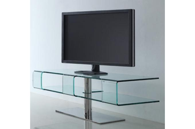 meuble tv design en verre dina meuble tv pas cher. Black Bedroom Furniture Sets. Home Design Ideas