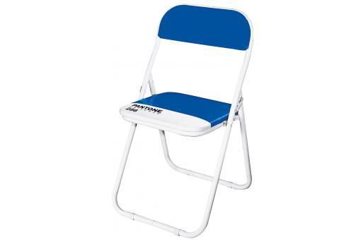 Chaise pliante pantone bleue barcelona chaise pliante pas cher - Chaise pliante pantone ...