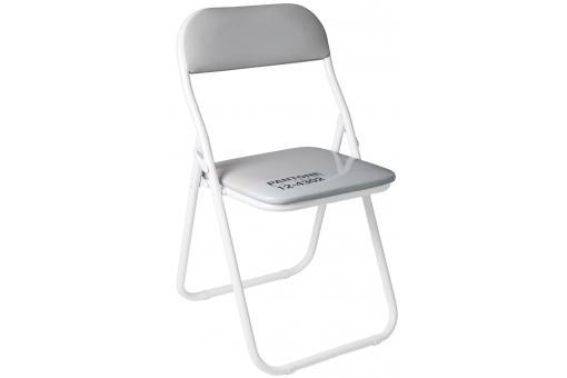 chaise pliante pantone grise barcelona - chaise pliante pas cher - Chaise Barcelona Pas Cher