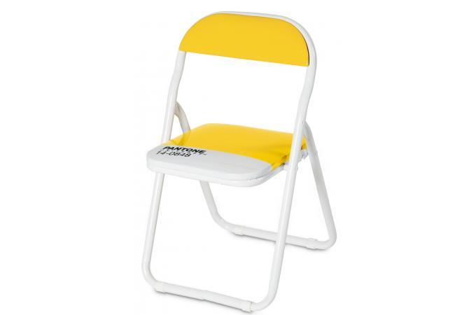petite chaise pliante pantone jaune firenze chaise pliante pas cher. Black Bedroom Furniture Sets. Home Design Ideas