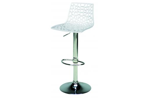 Tabouret De Bar Design Blanc SPARTE - Tabouret de bar design