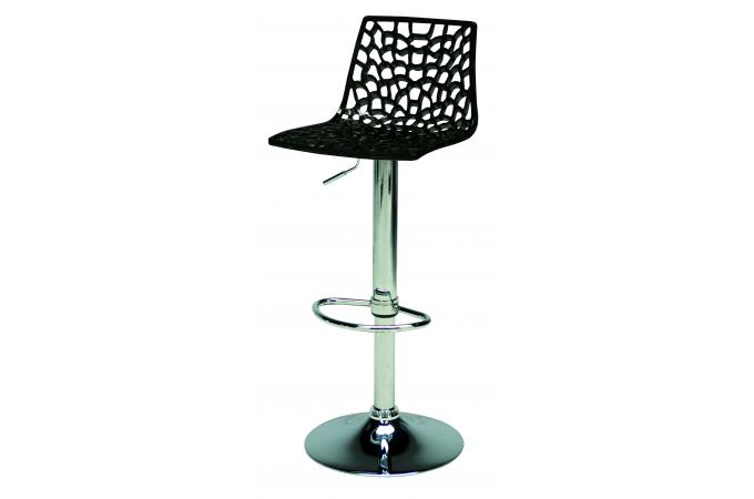 tabouret de bar design noir sparte tabouret de bar pas cher. Black Bedroom Furniture Sets. Home Design Ideas