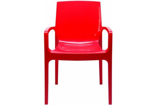 Chaise Design Rouge GENES