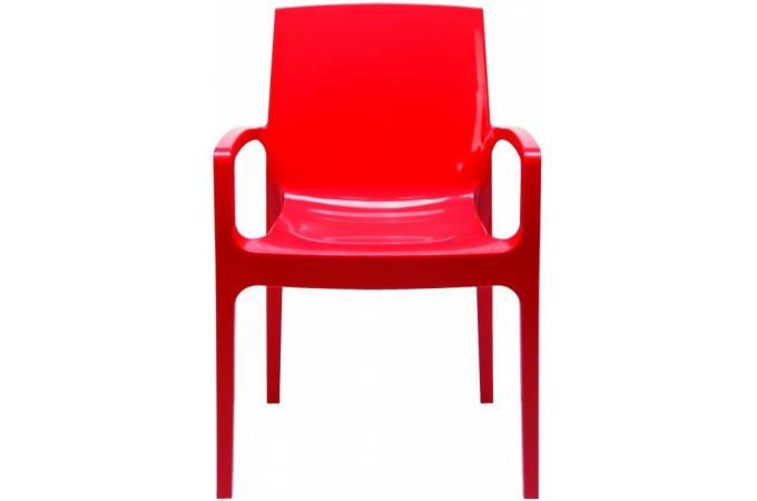 Chaise design rouge genes chaise design pas cher for Chaise rouge design pas cher