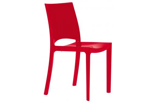 Chaise Design Rouge ARLEQUIN