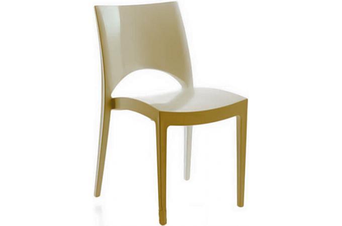 Chaise design beige arlequin chaise design pas cher - Chaise beige pas cher ...