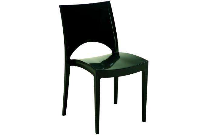 Chaise design grise laqu e venise chaise design pas cher - Chaises design grises ...