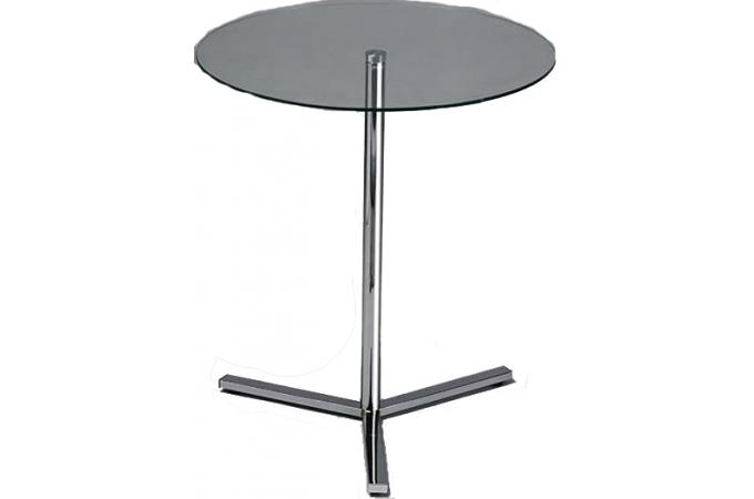 Table auxiliaire transparente en verre mondo table d for Table d appoint transparente