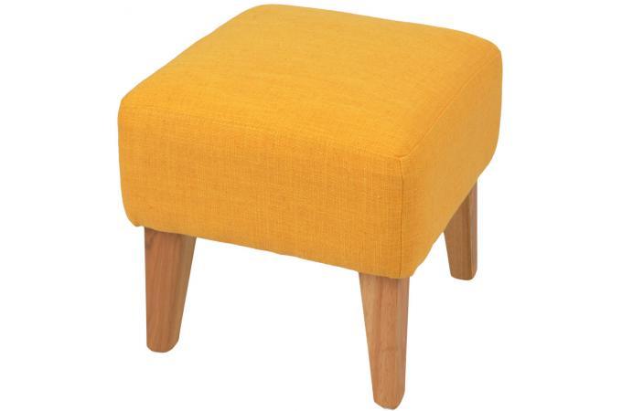 Repose pieds jaune en toile charlie petit tabouret pas cher - Repose pied pas cher ...