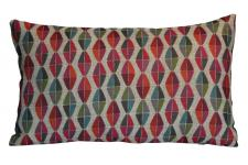 Coussin rouge en polyester Jodie - Coussin rouge