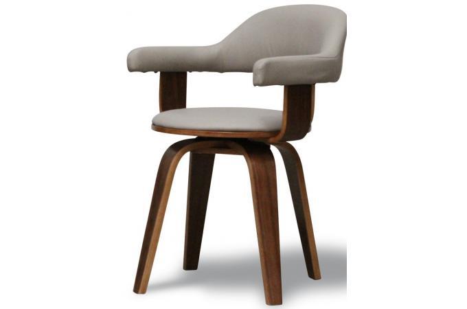 chaise taupe en simili sweden chaise design pas cher. Black Bedroom Furniture Sets. Home Design Ideas