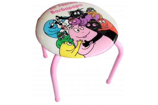 Tabouret pour enfant multicolore en vinyle The Family