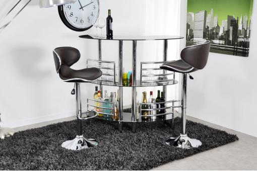 Table de Bar Argent