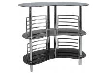 Bar design en métal CHROME - Table de bar design